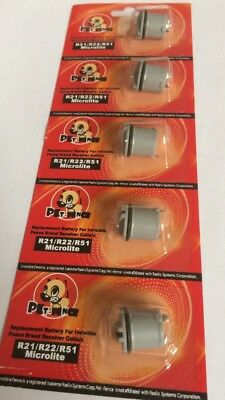 6 X New R21 R22 R51 Replacement Batteries for Invisible Fence Dog Collar