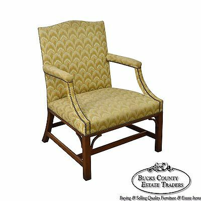 Kittinger Colonial Williamsburg Chippendale George II Style Arm Chair (CW 14)(B)