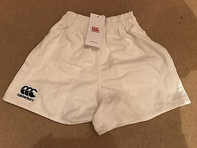 canterbury White Rugby Shorts