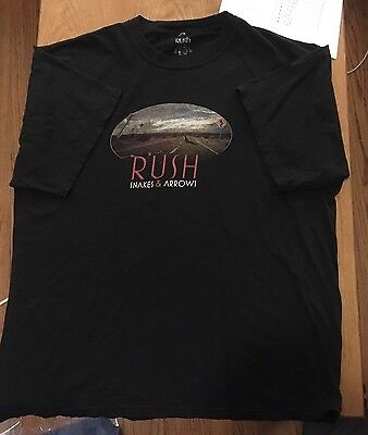 RUSH Snakes And Arrows -T-shirt- Size XL