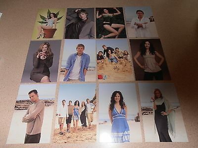 Weeds TV series postcards