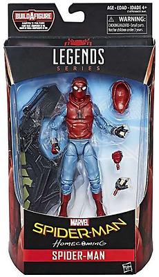 Marvel Legends Homecoming Spider-Man Series Spider-Man Home Made Suit Figure