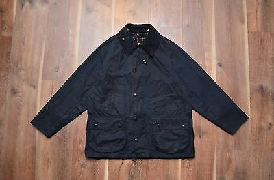 Barbour Bedale A105 Vintage Waxed Coat Jacket C38/97CM Fishing Hunting Casual