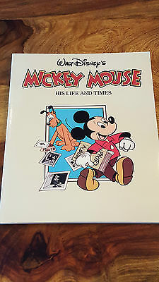 Mickey Mouse His life and times (1st us edition 1986)