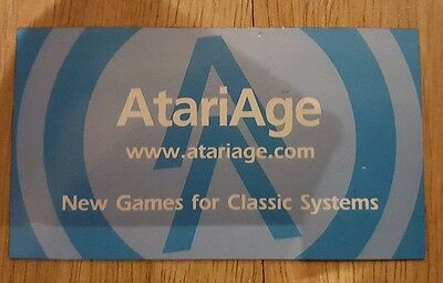 Rare Atari age magnet - New games for classic systems
