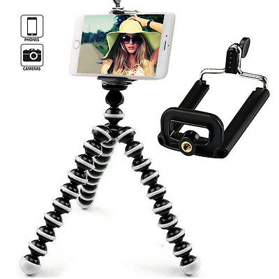Mini Flexible Tripod Octopus Stand Mount Holder For Camera iPhone Samsung