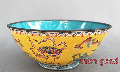 Chinese Exquisite Collection  Cloisonne bowl Qianlong Mark