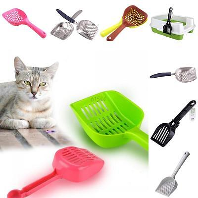 Pro Pet Dog Cat Litter Tray Spoon Waste Scooper Poop Shovel Cleaning Product