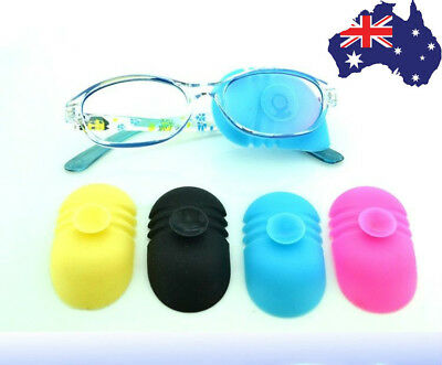 AU STOCK Kid Adult Eye Patch Glasses Amblyopia Medical Lazy Silicone Orthoptic