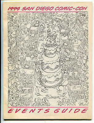 San Diego Comic Con Events Guide 1999 FN Sergio Aragones Cover