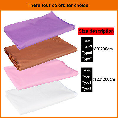 4Colors Spa Massage Table Coverlet Comfort Massager Bed Sheet Cradle Cover g0