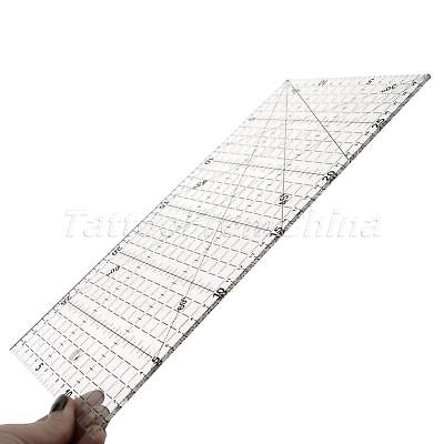 High-precision Quilting Sewing Patchwork Ruler Transparent Foot Aligned Craft