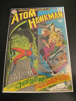 THE ATOM (& HAWKMAN) #41 (FN+)  **Tight & Bright!**