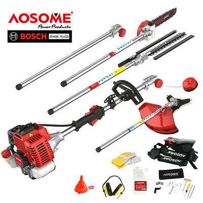 52cc 5 in 1 multi function garden tool-Strimmer, Chainsaw, brush cutter, Trimmer