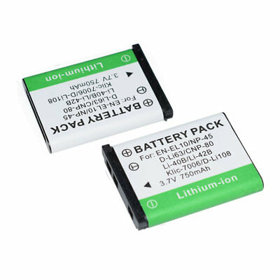 BATTERY for NIKON COOLPIX S610 AW130 S-710 610 ACCU