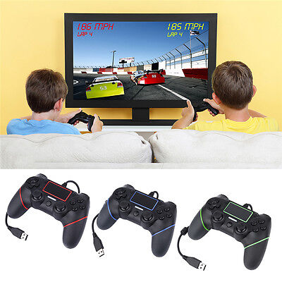 USB Wired Game Controller For Sony PlayStation 4 Joystick Gamepad Controller HOT