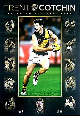 Trent Cotchin Richmond Collage Official AFL Licensed Print Only or Framed