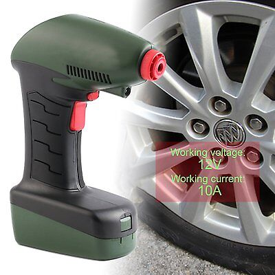 12V Car Handheld Portable Air Compressor Auto Tire Inflator Pump Emergency LU