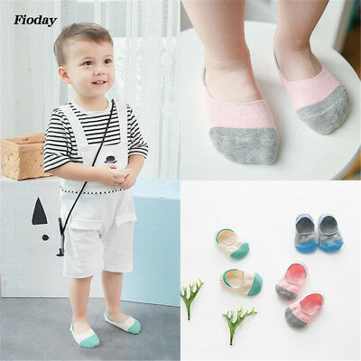 3 Pairs Grils Kawaii Cartoon Cotton Baby Socks Boys Kids Rainbow Dot Print Socks
