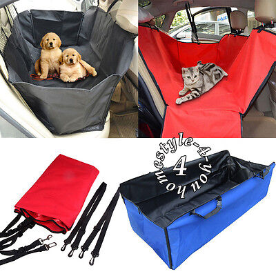 Waterproof Pet Dog Car Back Seat Cover Cushion Hammock Blanket Large Protector