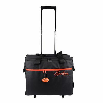 Sew Easy Nähmaschinen Trolley (L / schwarz/rot) - MR4680.PLBK.2 - #17592