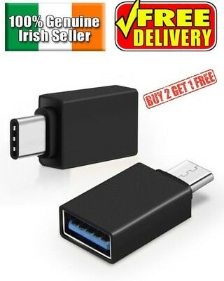 USB 3.1 USB-C Type C Male to USB A 3.0 Female Converter Adapter for Mac etc.
