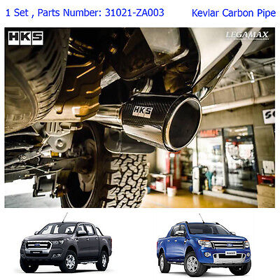 Performance Stainless Exhaust Pipe Kevlar Tip Fits Ford Ranger Pickup 2012 - 17
