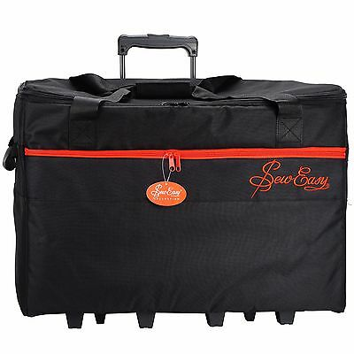 Sew Easy Nähmaschinen Trolley (XL / schwarz/rot) -- MR4684.PLBK.2 --  #17593