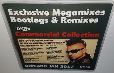 Dmc Commercial Collection 408 January 2017 Brand New 2Cd Dj Remix Service