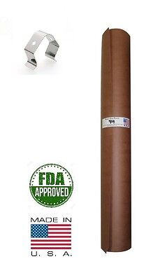 "24"" x 150' Pink/Peach Butcher Paper Roll Smoker Safe Aaron Franklin BBQ Style"