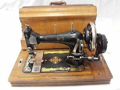 oferta Antigua maquina de coser harris 9   año 1919  sewing machine