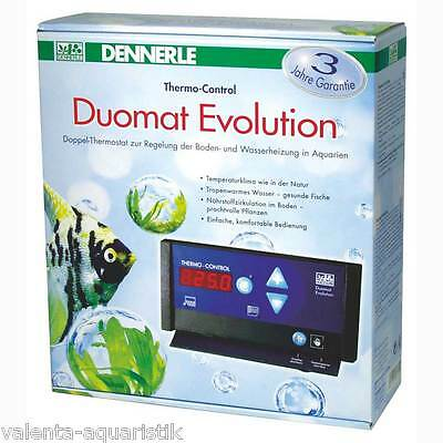 Dennerle Duomat Evolution Heizungssteuerung Doppelthermostat Thermo Control
