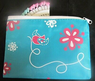 Decorative~Knitting Notions~Essential Zip Up Purse ~ Storage~Sewing~Knitting~