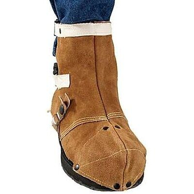 Revco SP Boot & Shoe Covers Side Split Cowhide Protectors Good Free Return Full