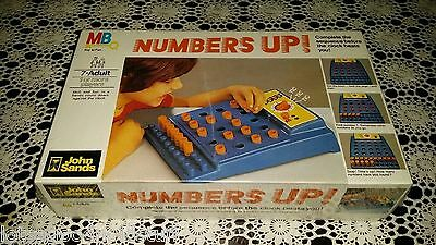 NUMBERS UP! Vintage 1977 John Sands Sequence Game SEALED UNUSED