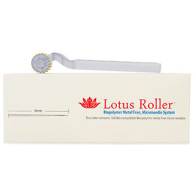 Dermaroller Acne,Cellulite,Scars and Hair Loss hypoallergenic White Lotus1.0,0.5