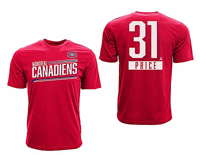 T-SHIRT LEVELWEAR NAME & NUMBER CAREY PRICE