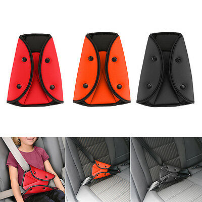 Car Child Seat Belt Fixator Triangle Harness Strap Adjuster Kids Safety Cover