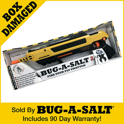 DAMAGED BOX Authentic BUG-A-SALT 2.0 GUN Never used Full Manufacturer Warranty