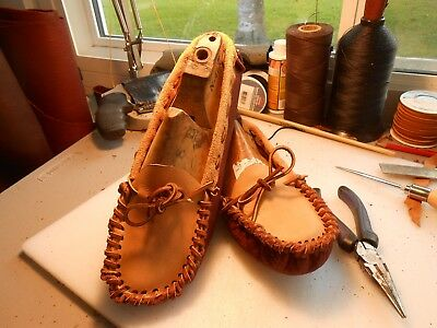 Native American Scout Moccasins {Buffalo Hide sole available}