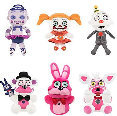 Five Nights at Freddy's FNAF Horror Game Plush Toy Ennard Ballora Circus Doll 8""