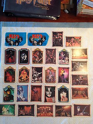 Vintage 1978 KISS Collectible Trading Cards Miscellanous Cards