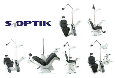 S4Optik 2000 Combo Ophthalmic Chair And Stand