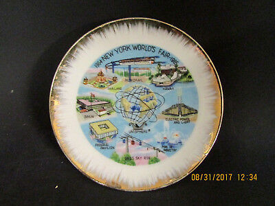 United States Steel - Unisphere New York City NYC 1964 - 65 World's Fair Plate