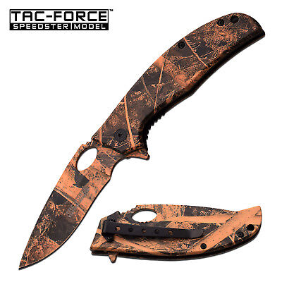 TAC-FORCE Spring Assisted EDC Tactical Folding Rescue Pocket Knife NEW TF-913BC
