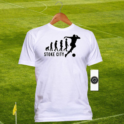Town Made In Stoke Mens T-Shirt City Hometown FC Potters