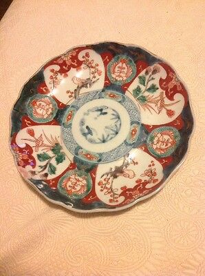 19th Century Imari Charger with character markings