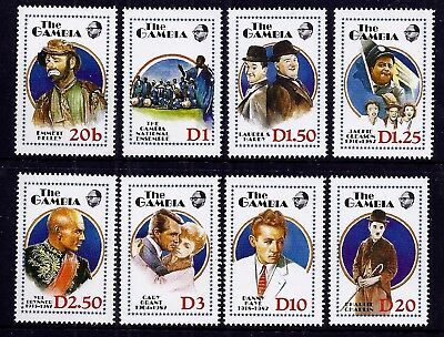 Gambia 1988 Entertainers set fine fresh MNH