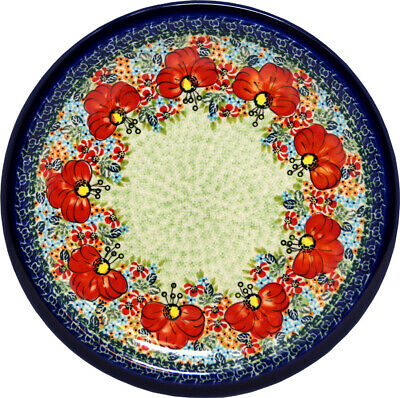 "Polish Pottery Dinner Plate 11"" from Zaklady Boleslawiec Polish 1014-296ar"
