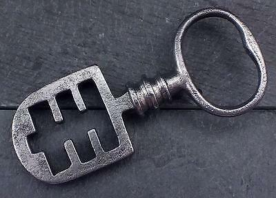 18th/19th Century Odell Steel Latch Key - Edinburgh Tenement / French -  Ref.37